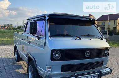 Пікап Volkswagen T3 (Transporter) груз-пас. 1991 в Дрогобичі