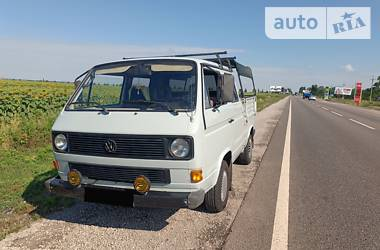 Пікап Volkswagen T3 (Transporter) груз-пас. 1990 в Кривому Розі