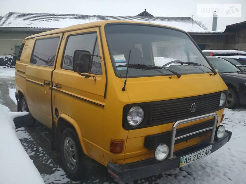 Фольксваген транспортер т3 1983 транспортер в авто
