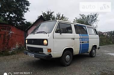 Volkswagen T3 (Transporter) пасс. 1986 в Чорткове