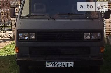 Volkswagen T3 (Transporter) 1989 в Львове