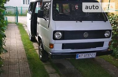 Volkswagen T3 (Transporter) 1987 в Надвірній