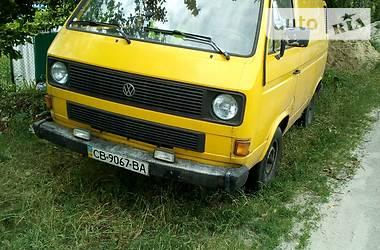 Volkswagen T3 (Transporter) 1986 в Чернігові