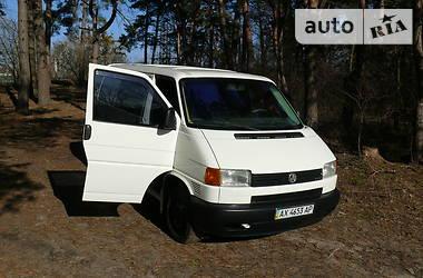 Легковой фургон (до 1,5 т) Volkswagen T4 (Transporter) груз-пасс. 2001 в Дергачах