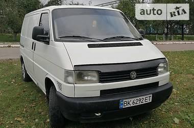 Легковий фургон (до 1,5т) Volkswagen T4 (Transporter) груз. 1998 в Києві
