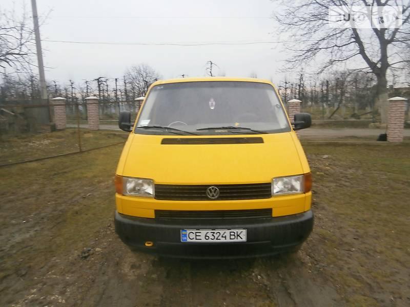 Volkswagen T4 (Transporter) пасс. 1999 в Хотине