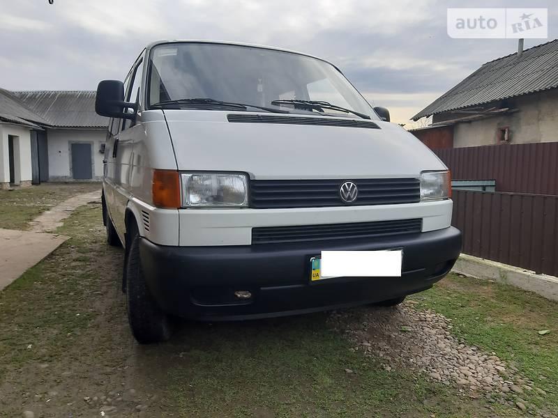 Volkswagen T4 (Transporter) пасс. 1997 в Калуше
