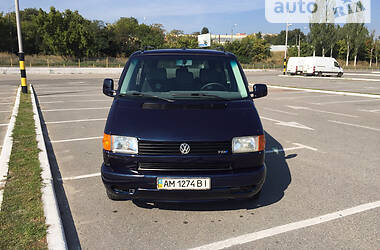 Легковой фургон (до 1,5 т) Volkswagen T4 (Transporter) пасс. 2000 в Киеве