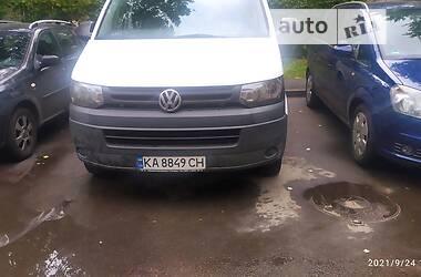 Легковой фургон (до 1,5 т) Volkswagen T5 (Transporter) груз. 2010 в Киеве