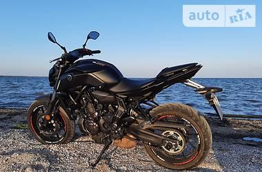 Мотоцикл Без обтекателей (Naked bike) Yamaha MT-07 2020 в Геническе