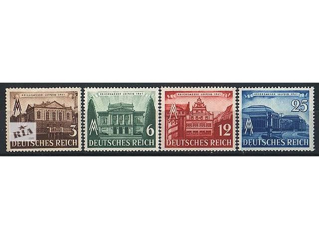 бу 1941 - Рейх - Ярмарка в Лейпциге Mi.764-67 ** в Ровно