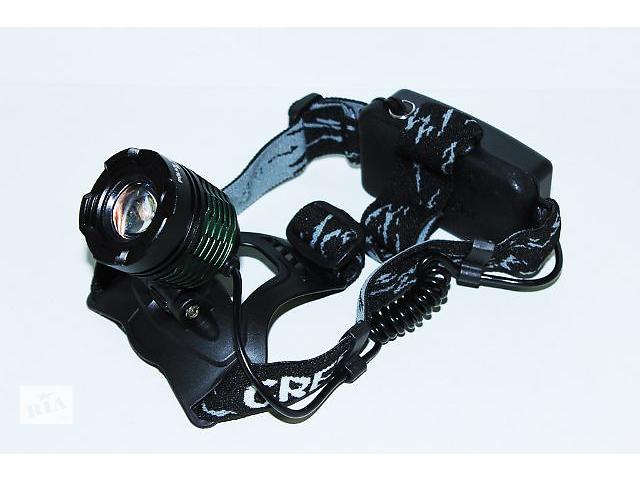продам Фонарик мощный налобный Police BL-2188B Т6 150000W бу в Виннице