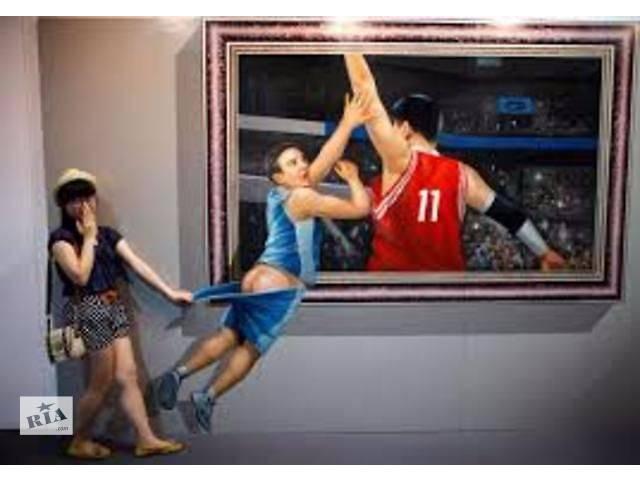 купить бу 3D Картины .Креативная Франшиза с wow-эффектом!  в Украине