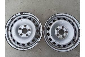 6Jx15H2ET47 диски металеві 2 шт для фольксваген кадді  2004-2014 рікБ/у диски для Volkswagen Caddy
