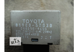 б/в реле поворотів Toyota