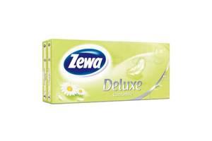 Носовые платки Zewa Deluxe Ромашка 3 слоя 10 шт х 10 пачек (7322540098846)