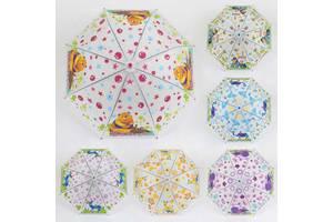 Зонтик детский 6 видов, диаметр 76 см SKL11-221441