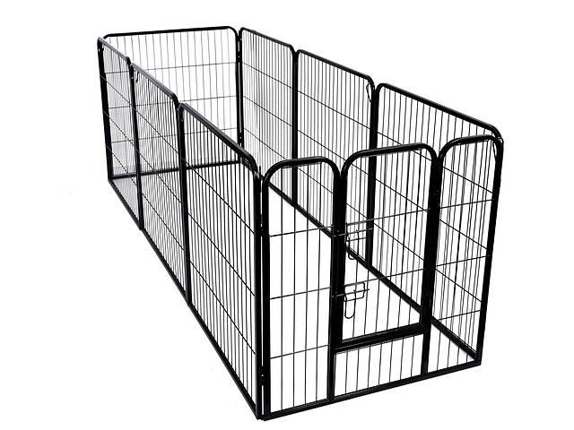 бу Клетка для домашних животных, металлическое заграждения, высота 80см. Под заказ в Львові