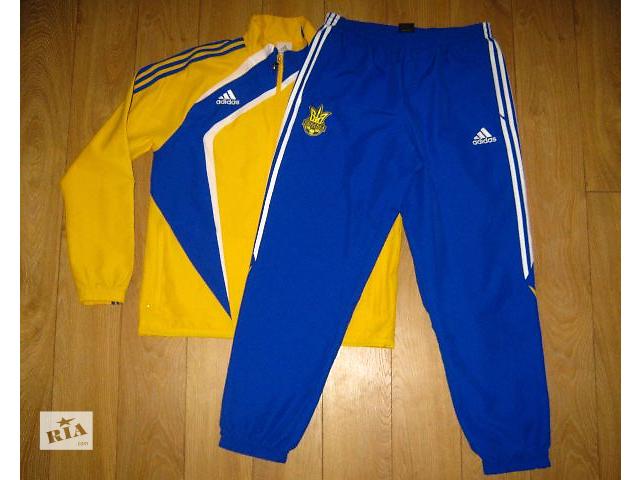 ac4ff09a851 Аdidas спортивный костюм Национальной Сборной Украины - Мужская ...
