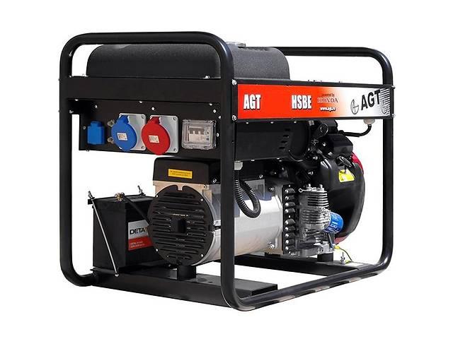 купить бу Бензиновый Генератор  AGT 11501 HSBE R16 AVR в Ивано-Франковске