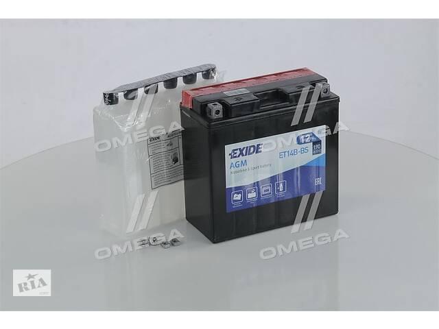 Аккумулятор   12Ah-12v Exide AGM (ET14B-BS) (150х70х145) L, EN190- объявление о продаже  в Харкові