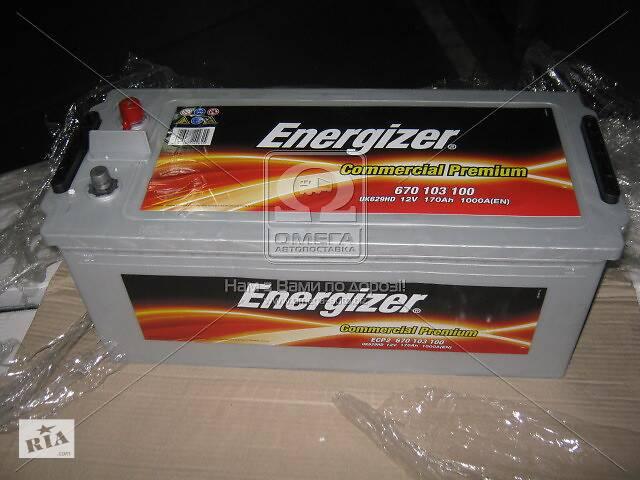 купить бу Аккумулятор  170Ah-12v Energizer CP (513х223х223), полярность обратная (3),EN1000 !КАТ. -10% в Харкові