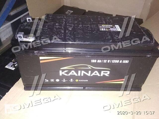 продам Аккумулятор  190Ah-12v KAINAR Standart+ (524x239x223), полярность прямая (4),EN1250 БОЛТОВАЯ КЛЕММА бу в Харкові