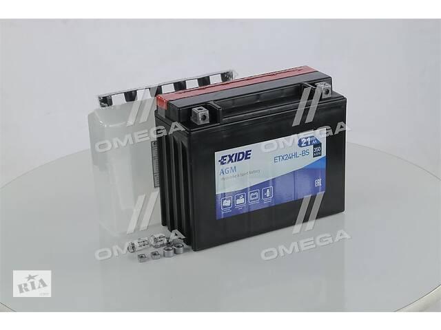 Аккумулятор   21Ah-12v Exide AGM (ETX24HL-BS) (205х87х162) R, EN350- объявление о продаже  в Харкові