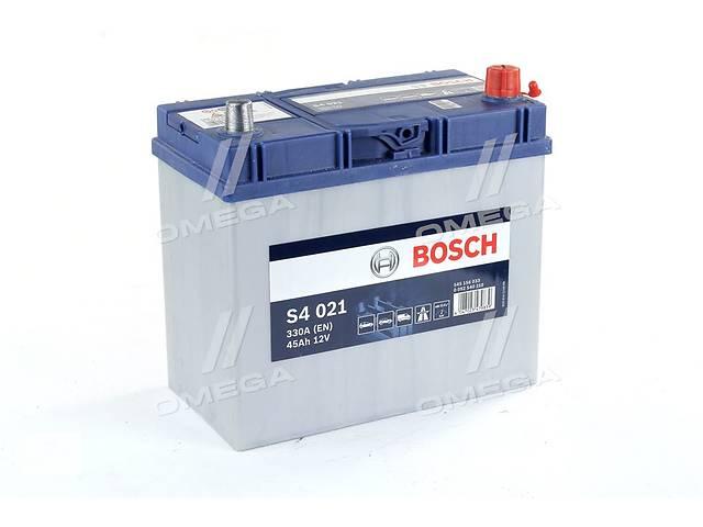 купить бу Аккумулятор   45Ah-12v BOSCH (S4021) (238x129x227),R,EN330(Азия) в Харькове