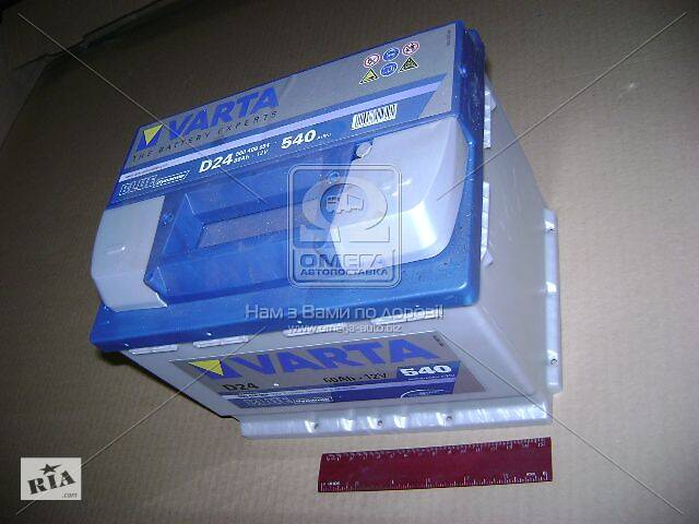 Аккумулятор   60Ah-12v VARTA BD(D24) (242х175х190),R,EN540- объявление о продаже  в Харкові