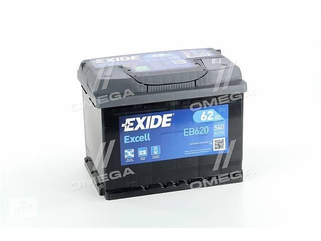 продам Аккумулятор   62Ah-12v Exide EXCELL(242х175х190),R,EN540 бу в Харкові