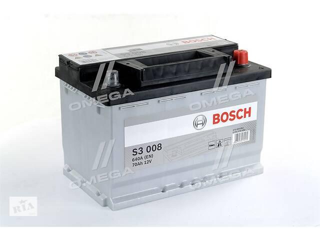 Аккумулятор   70Ah-12v BOSCH (S3008) (278x175x190),R,EN640- объявление о продаже  в Харкові