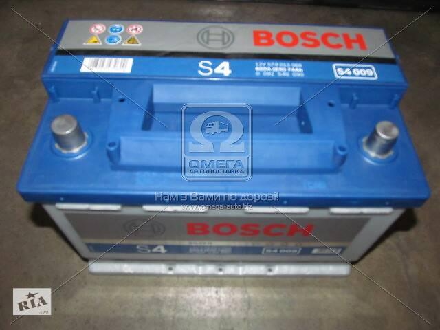 продам Аккумулятор   74Ah-12v BOSCH (S4009) (278x175x190),L,EN680 бу в Харькове