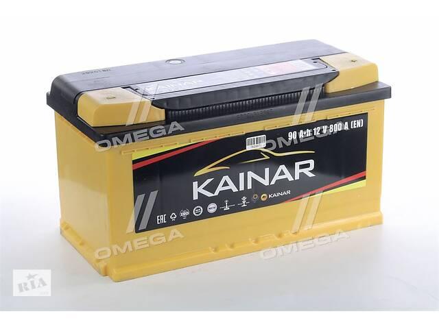 купить бу Аккумулятор   90Ah-12v KAINAR Standart+ (353х175х190),R,EN800 !КАТ. -10% в Харкові