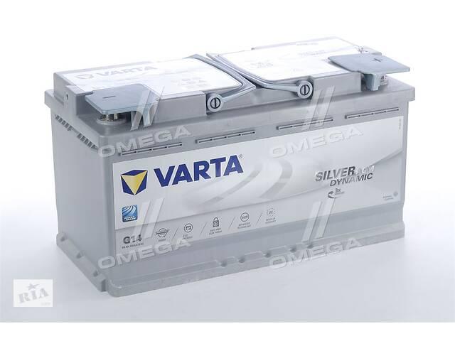 купить бу Аккумулятор   95Ah-12v VARTA Silver Dynamic AGM (G14) (353х175х190),R,EN850 в Харкові