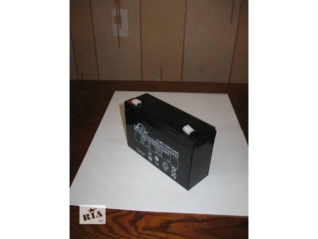 купить бу Аккумулятор Leoch DJW 6/12В 7Ач до детского электромобиля, эхолота, ибп, сигнализации. в Киеве