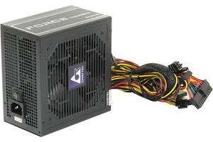 Блок питания Chieftec CPS-550S Force; ATX 2.3, APFC, 12cm fan, КПД 85%, RTL