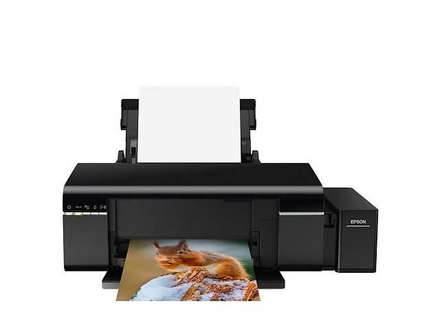 бу Принтер Epson L805 Фабрика печати с Wi-Fi (C11CE86403) в Киеве