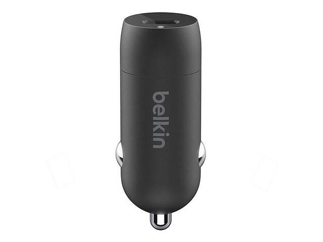 АвтомобильноезарядноеустройствоBelkin Car Charger (18W) Power Delivery Port USB-C Black- объявление о продаже  в Киеве