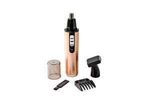 Триммер для стрижки волос носа ушей бровей Gemei GM 3112 2в1 машинка для удаления волос на лице