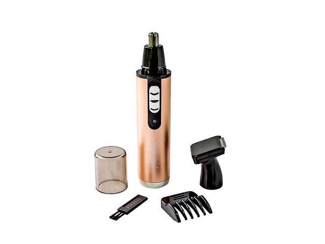 купить бу Триммер для стрижки волос носа ушей бровей Gemei GM 3112 2в1 машинка для удаления волос на лице в Харькове