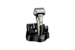 Универсальный мужской триммер для бороды усов носа и тела Gemei GM 576 6в1 машинка для стрижки