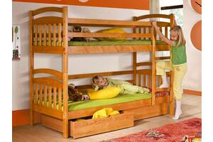 Акция! Двухъярусная подростковая кровать Иринка +ящики + матрасы.