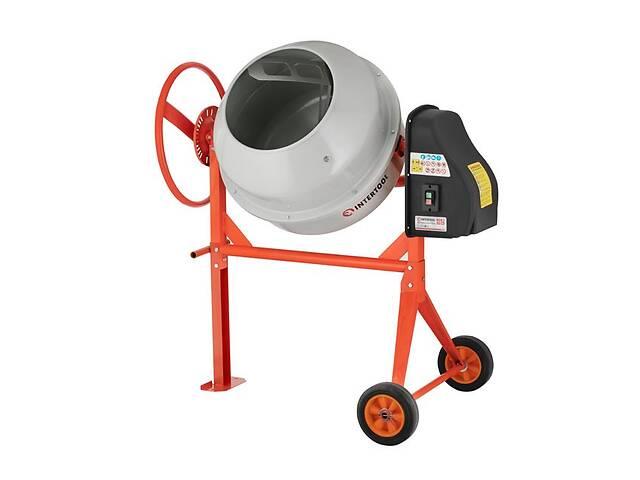 Бетоносмеситель 550 Вт, 120л, 24-29 об/мин Intertool DT-9120