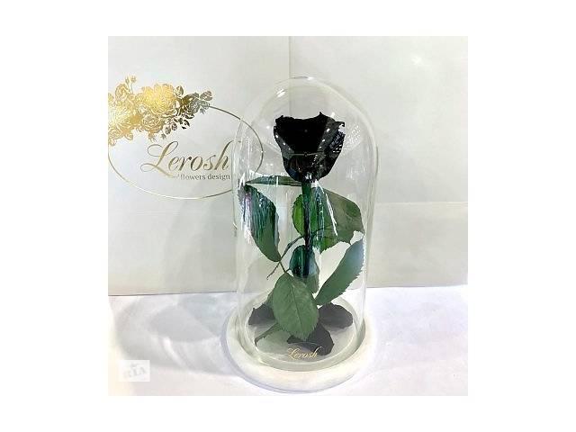 продам Черная роза в колбе Lerosh - Classic 27 см SKL15-279524 бу в Киеве