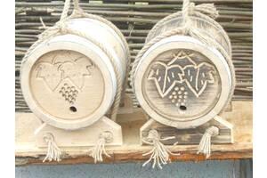 Деревянные бочки и кадки от производителя.