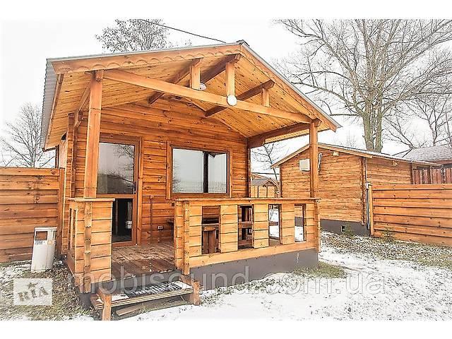Дом деревянный сборный из профилированного бруса 6х4 м- объявление о продаже  в Дубно