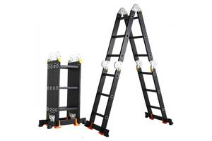 Лестница-трансформер GTM KMP405A 4 * 5 5,75 м алюминиевая