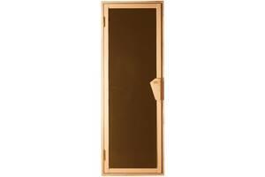 Дверь для бани-бочки под ключ и сауны Tesli UNO 1900 х 700 Львовская область