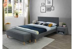 Двоспальне ліжко Azurro 140X200 Сірий